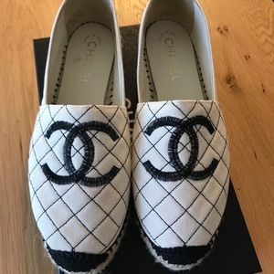 Chanel Espadrilles Quilted Size 39